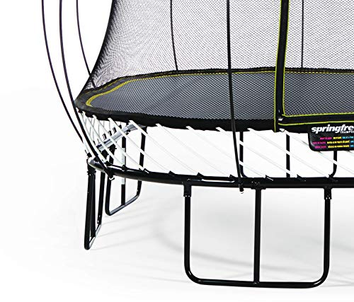 Springfree Trampoline - 8x13ft Large Oval Trampoline With Basketball...