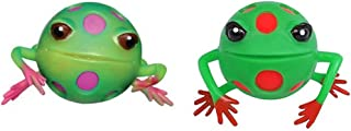 Rhode Island Novelty Blob Frog Squeeze Stress Ball Assorted Colors - (1)