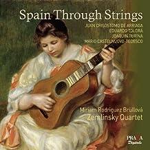 Spain Through Strings by Miriam Rodriguez Brullova (2013-04-09)