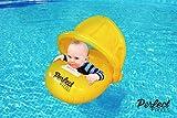 Perfect Pools Seggiolino Arancione per Bambini Uufficiale, Galleggiante per Piscina per Bambini