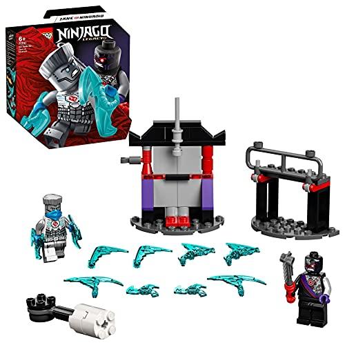 Il set LEGO NINJAGO - Battaglia epica – Zane vs Nindroid (71731) consente ai bambini di creare le proprie scene d'azione ninja tra il loro eroe Zane e un pericoloso Nindroid. Il playset ninja contiene 2 minifigure: Zane, novità di gennaio 2021, e un ...