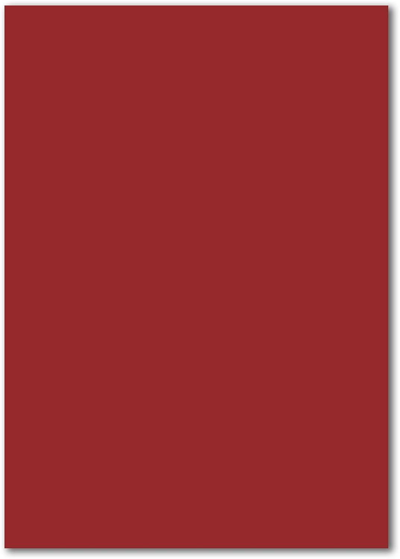 calidad auténtica ColornFroh - Arco para Tarjetas DIN A5, 240 g g g m2, Color 14-Dunkelrojo 700 Bogen  forma única