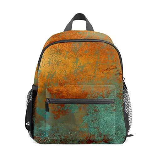 Backpack Student Bookbag for Kids Girls Boys,Vintage Color Casual Daypack School Travel Bag Organizer Gift