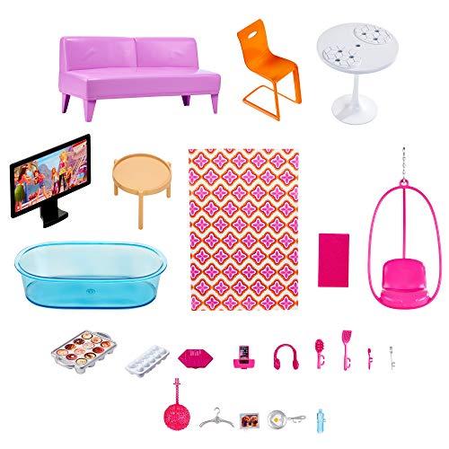 Maison de Luxe Barbie 3 Étages Rose - 6