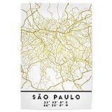 artboxONE Poster 30x20 cm Städte SAO Paulo Brazil Street