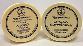 Taylor of Old Bond Street Shave Cream -- 2 Pack Mr Taylor and St James 5.3 0z