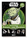 Disney Star Wars: Superstarker Sticker- und Malspaß: über 500 Sticker!: Mit über 500 Stickern