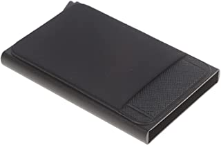 Pop Up Wallet Alloy RFID Blocking Card Holder Slim Minimalist Credit Card Holder Holds 6+1 Cards & Notes Money Metal Card ...