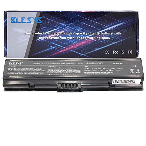 BLESYS 6 células PA3533U-1BRS PA3533U-1BAS PA3534U-1BAS PA3534U-1BRS PA3535U-1BAS PA3535U-1BRS Compatible con batería de portátil Toshiba Satellite A200 A300 L200 L300D L450D L455D L500D L555 batería