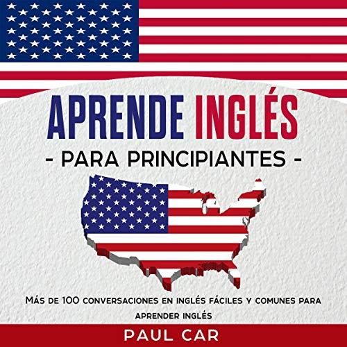 Diseño de la portada del título Aprende Inglés Para Principiantes