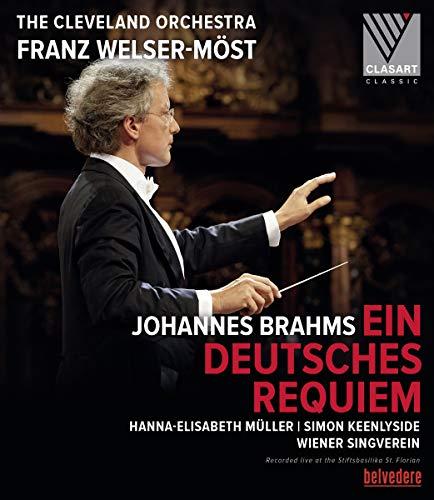 Brahams, J.: Deutsches Requiem (Ein) (H.-E. Müller, Keenlyside, Wiener Singverein, Cleveland Orchestra, Welser-Möst) [Blu-ray]