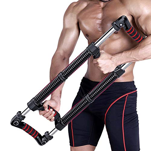 Push Down Bar, Arm Forearm Exerciser Chest Expander, 30-100 Kg Adjustable Arm Strength Device, Workout Equipment, Press Down Machine, Chest Workout