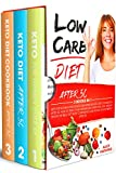 LOW CARB DIET: 3 Books in 1, Keto For Women Over 50, Keto Diet After 50, Guide and Cookboook. How to Reset Your Metabolism, Burn Fat, Lose Weight, Deflate The Belly and Boost Your Energy After 50