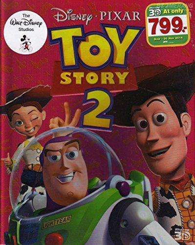 Toy Story 2 (Blu-ray 3D, Region A) Cartoon Animation Kid family Disney Pixar