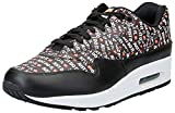 Nike Air MAX 1 Premium, Zapatillas de Gimnasia Hombre, Negro (Black/White/Total Orange 009), 42 EU