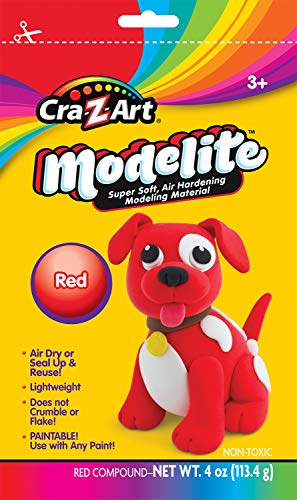 Cra-Z-Art Modelite Red 4oz Modeling Compound