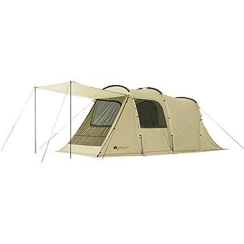 [ロゴス] LOGOS キャンプ ツールーム テント グランベーシック トンネルドーム XL-AG ホワイト 71805023