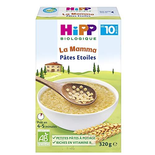 Hipp Biologique Pâtes Etoiles dès 10 Mois - 6 boîtes de 320 g