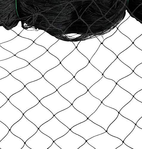 Nylon Mesh Anti Bird Netting [50 X 50] ft for Fruit Trees Used As Bird Netting for Chicken Coop, Garden Netting, Plant Netting, Tree Protectors, Aviary Netting and Poultry Netting
