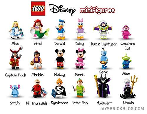 Lego the Disney Series Minifigures - Complete Unopened Set of 18 (71012)