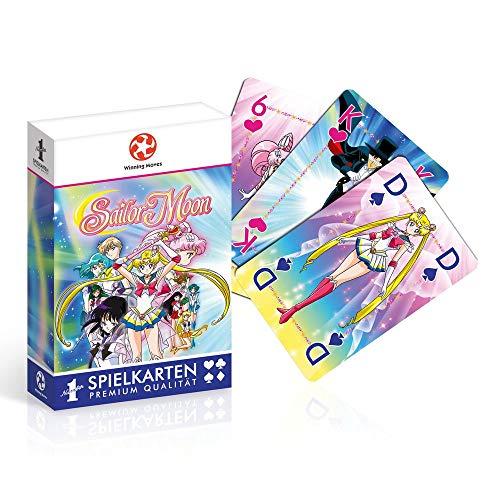 Sailor Moon - Spielkarten - Kartenspiel | Manga Anime