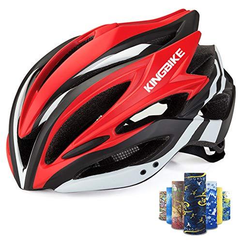 YYYY Fahrradhelm für Erwachsene, 5 Sportkopfbedeckungen, Sonnenschutz gegen Vibrationen und Stürze, atmungsaktiv und bequem, Sportausrüstung für Fahrradhelme (Einstellbarer Kopfumfang-58-62CM)