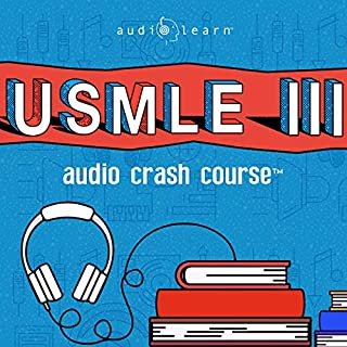 USMLE Step 1 Audio Crash Course (Audiobook) by AudioLearn Medical