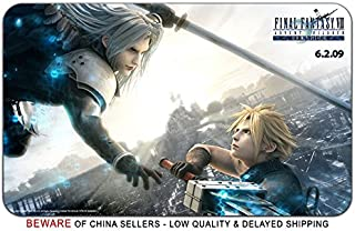Final Fantasy 7Advent ChildrenゲームスタイリッシュなPlaymatマウスパッド(24x 14) インチ[ MP ] ff7advent-3