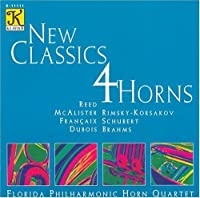 New Classics 4 Horns by REED / BRAHMS / SCHUBERT / MCALIS (2008-06-18)