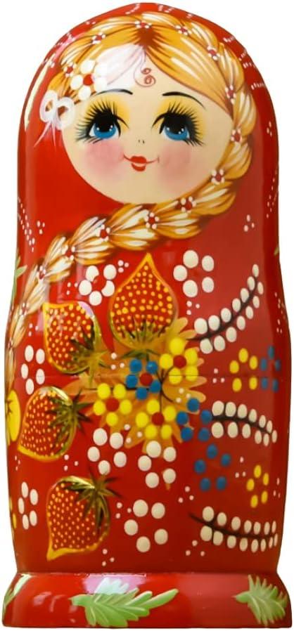 7 Ranking TOP11 Pcs Russian Nesting Dolls Miami Mall Stacking Matryoshka Wooden Hand Made