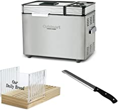 Cuisinart CBK-200 2-Pound Convection Automatic Breadmaker with Bread Slicer and 8-Inch Stainless Steel Bread Knife Bundle...