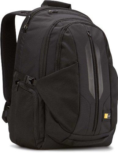 Case Logic RBP-117 17.3-Inch MacBook Pro Laptop Backpack with iPad Tablet Pocket (Black)