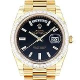 ロレックス ROLEX デイデイト 40 228398TBR ブラック文字盤 新品 腕時計 メンズ (W161250) [並行輸入品]
