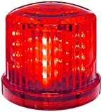 Fortune Products PL-300RJ PL-300BJ Battery Powered Ultra Bright Red Police LED Safety & Emergency Beacon Light w/Magnetic Bottom, 6' Diameter x 5' Height