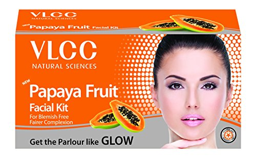 VLCC Papaya Fruit Facial Kit, 60g