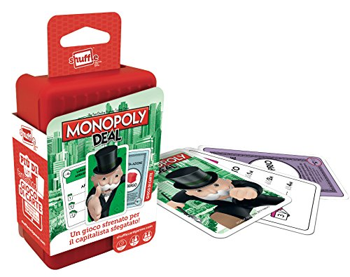 Cartamundi- Shuffle-Monopoly Deal, Versione Italiana