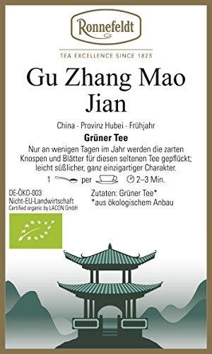 Ronnefeldt - Gu Zhang Mao Jian - Bio - Grüner Tee aus China - 100g