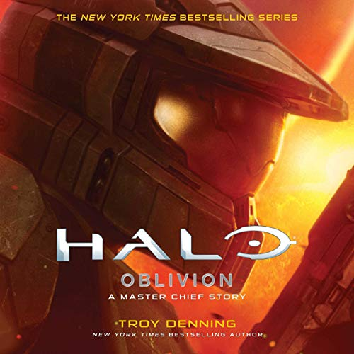 HALO: Oblivion audiobook cover art