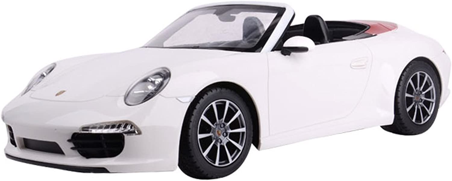 YESURPRISE Rastar New Best Christmas Birthday Gift R C 1 12 Remote-Control Car Porsche 911 Carrera S 47700 White Car Model FBA Fast Delivery