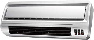 Calentador ZHIRONG Radiador montado en la Pared, eléctrico de cerámica de calefacción de PTC, 3 velocidades Ajustables, disipador de Calor de baño Mudo Impermeable, 800W / 1200W /