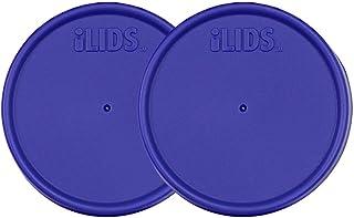 iLIDS Mason Jar Storage Lid, Regular Mouth, Purple, Pack of 2