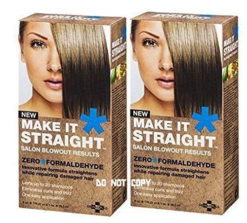 NEW! (2 PACK) Developlus Make It Straight Salon Blowout (2 PACK)