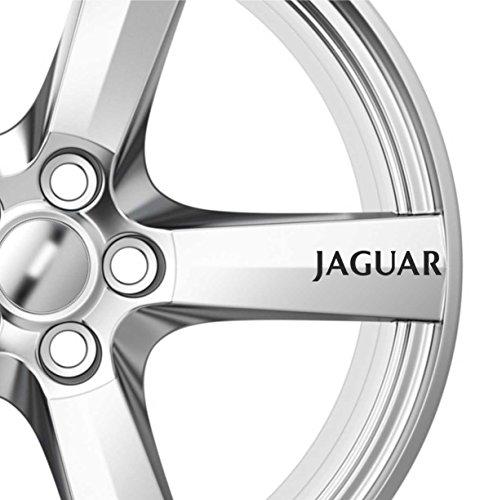 8 x Jaguar Alufelgen-Aufkleber X Typ XJS XJ6