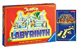 rav Ravensburger Labyrinth Set 21210 Junior Labyrinth + 23206 - Juego de cartas, a partir de 5 años