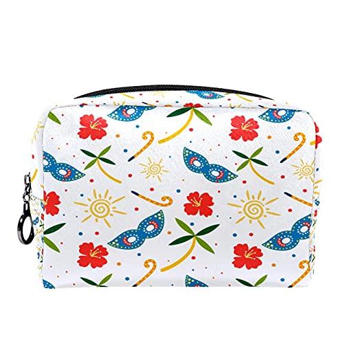 Colorido Carnaval Sun Flower Clutch Purse Organizador cosmético para mujeres y niñas niños multifuncional maquillaje cosmético bolsa bolsa bolsa bolsa bolsa bolsa bolsa