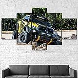 Bilder 5 Teiliges Wandbild Toyot Hilux Tonka Pick-Up-Truck Bild Auf Leinwand 5 Teilig Kunstdruck...