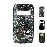 SHIJIU SHIMENG plástico PC defensa escudo policía/swat/soldado/capitán/defensa cosplay accesorios tamaño real rectángulo 90x 50cm (Camuflaje)