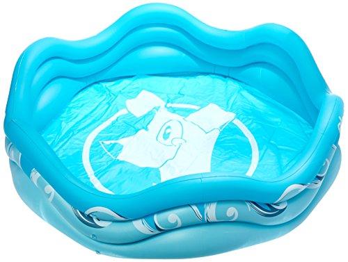 alcott Inflatable Pool for Dogs, 4' Diameter, Blue
