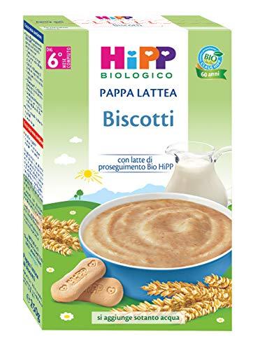 HiPP Pappa Lattea Biscotti - 3 confezioni da 250 gr