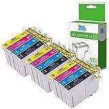 InkJello Compatible Encre Cartouche Remplacement pour Epson Stylus Office BX305F...